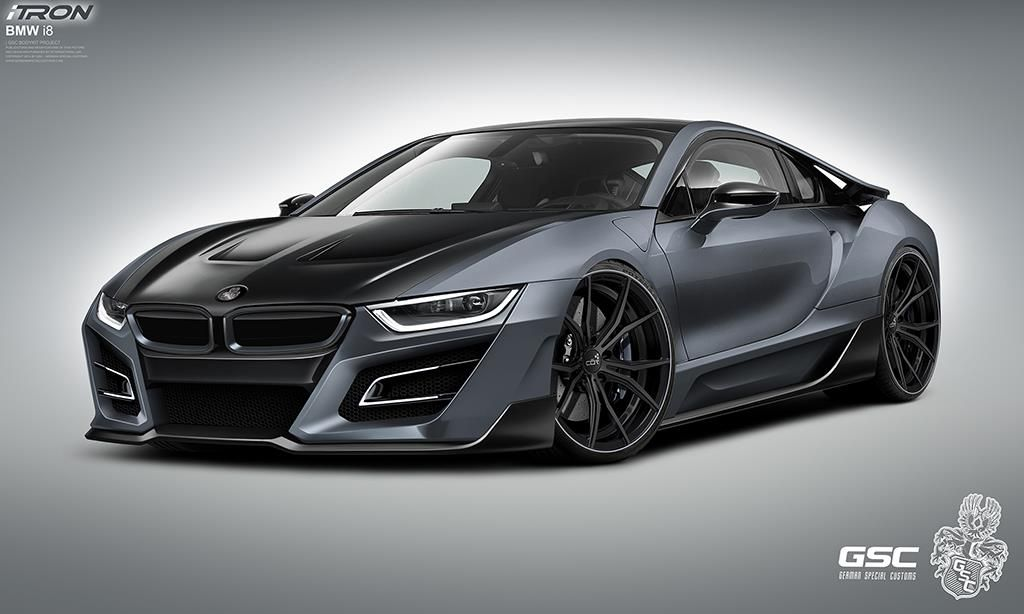Worksheet. Grey BMW i8 GSC iTRON Body Kit by German Special Customs Click to