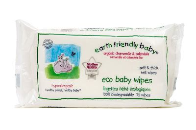 Earth Friendly Baby Eco Baby Pack of 72 Wipes