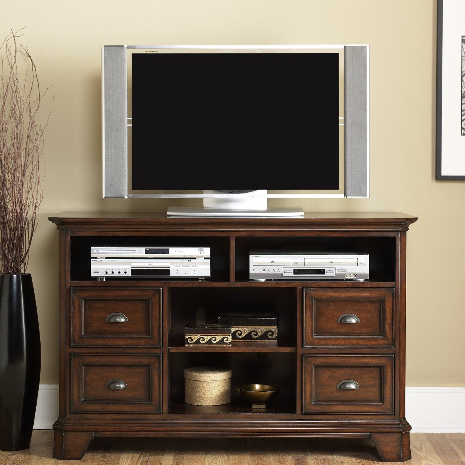 The 25 best tall tv stands ideas on pinterest living room tv tv table stand and 4 shelf tv stand for Tall tv stands for living room