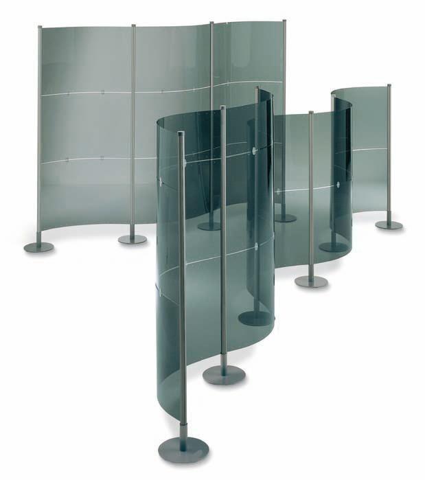 Elegantes mamparas modulares para crear ambientes y for Sofas para oficina baratos