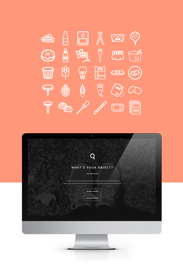 What's your object? by Michelle Lee, via Behance