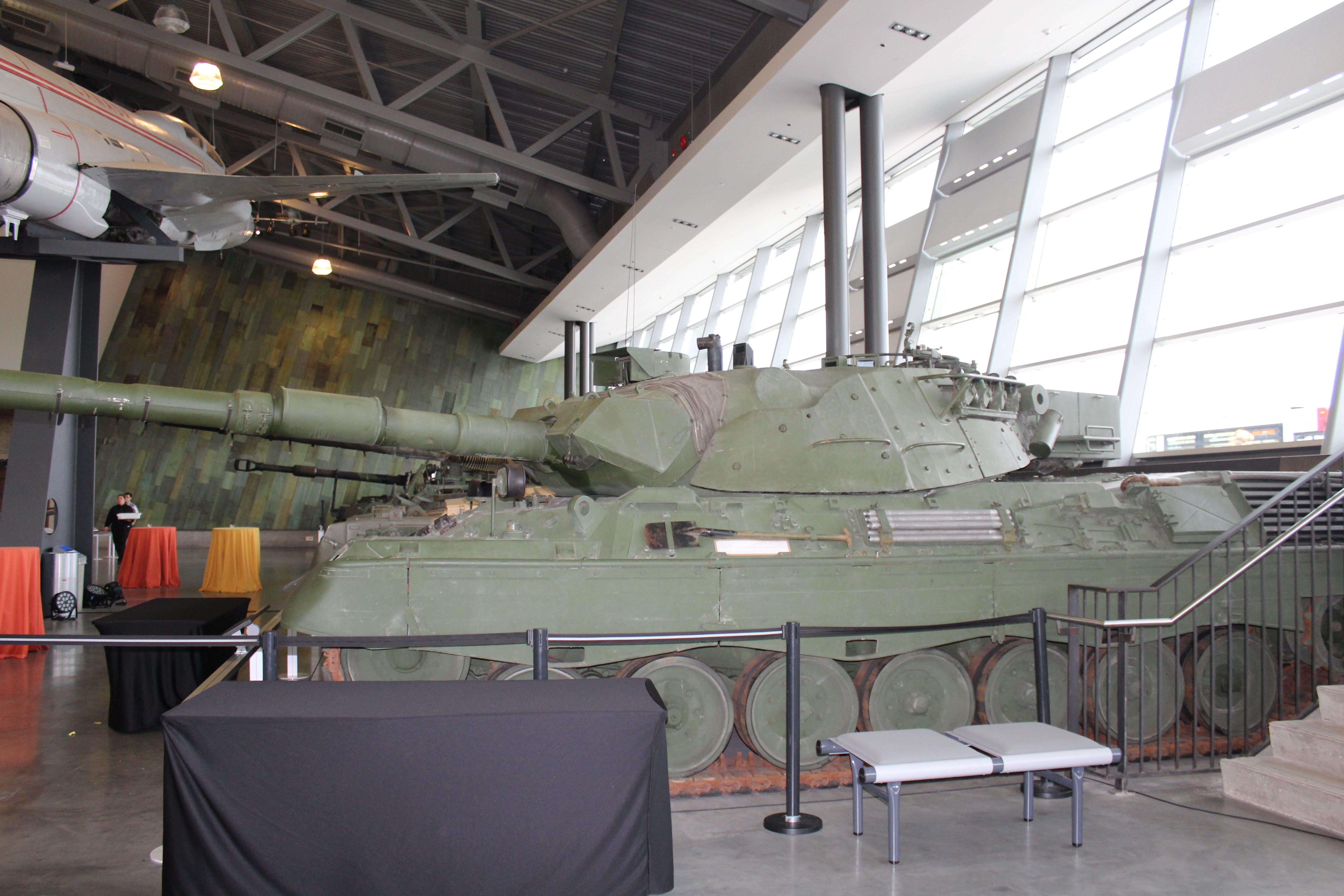 Canadian Leopard One Main Battle Tank...
