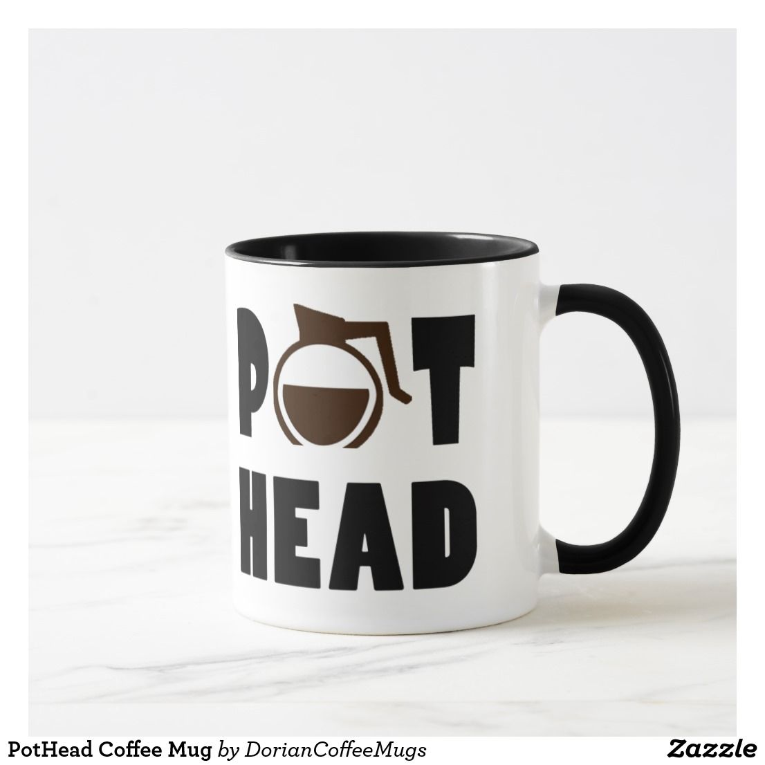 Pothead Coffee Mug Zazzle Com In 2020 Coffee Mugs Mugs Pot Head Coffee
