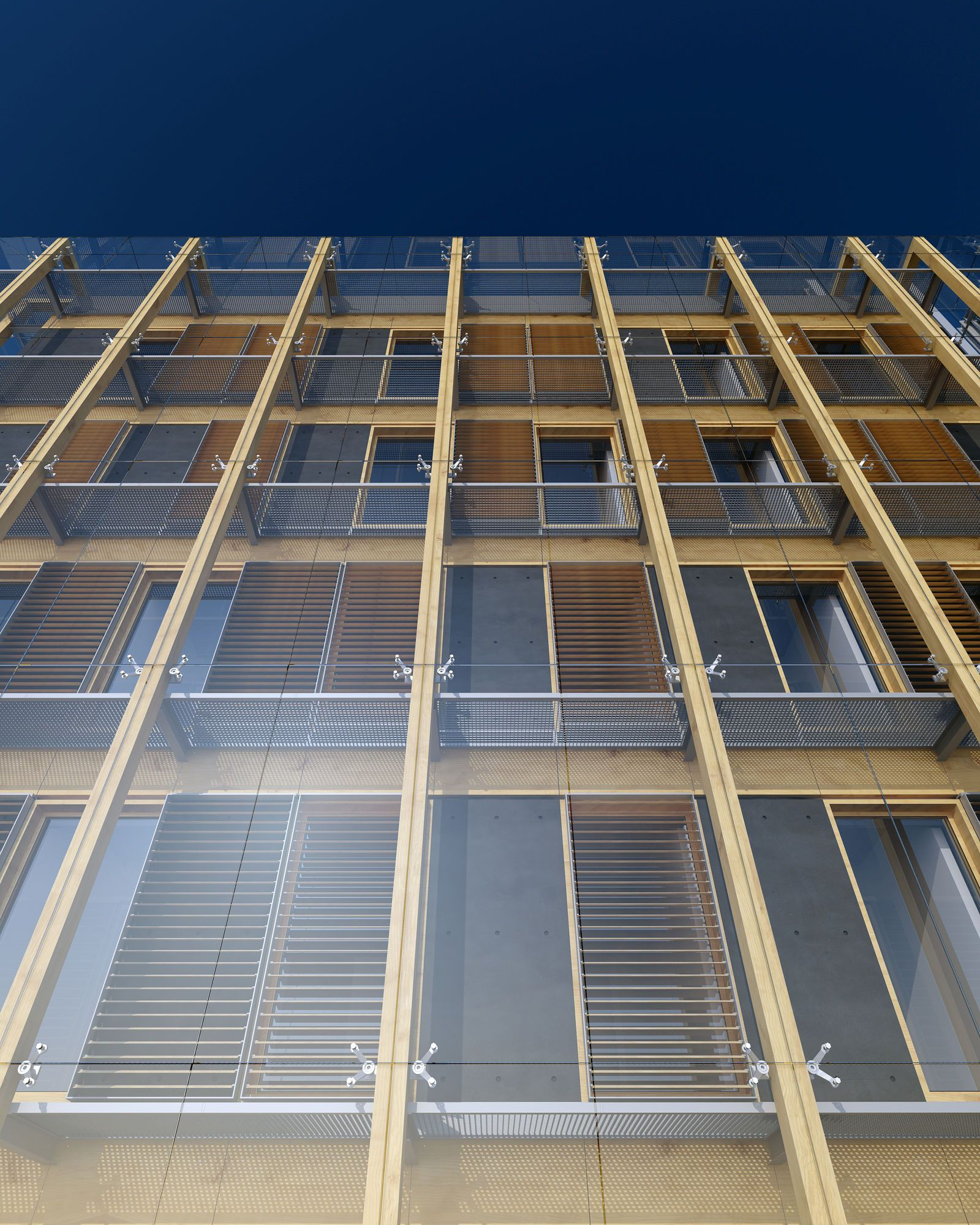 Architecture Facades: Double (second) Skin Facade