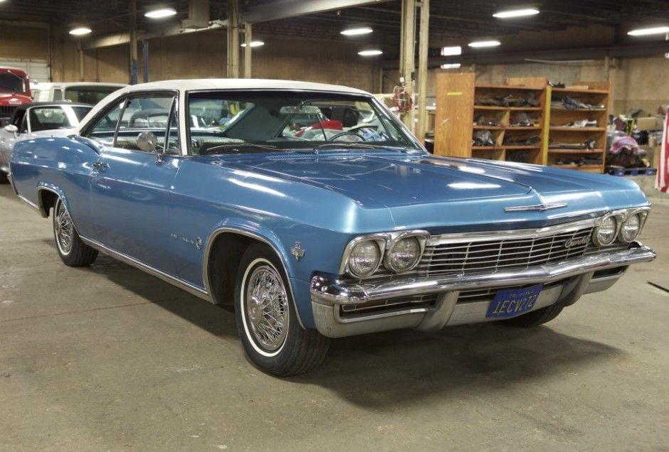 1965 Chevy Impala 327 2 Door Hardtop Impala Car 1965 Chevy Impala Chevy Impala