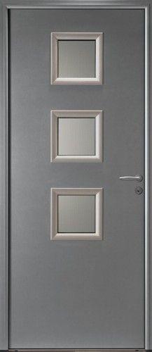 porte aluminium porte entree bel 39 m contemporaine. Black Bedroom Furniture Sets. Home Design Ideas