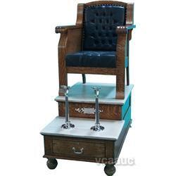Restored Koken Single Chair Shoe Shine Stand Single Chair Shoe