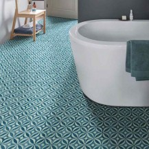 Funky Lino Patterned Roll Sheet Flooring Free Delivery