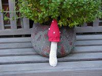 Annemarie's Haakblog: A mushroom - Een paddestoel