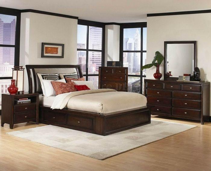 Schlafzimmer Brombeer ~ Die besten moderne weiße schlafzimmer ideen auf