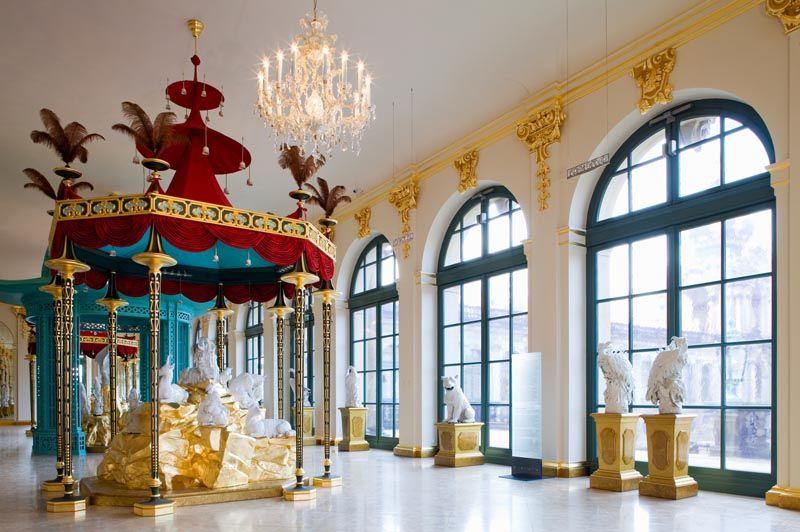 Evgenia Gl 12 04 2010 Deu Sachsen Dresden Staatliche Kunstsammlungen Porzellansammlung Zwinger Japanese Palace Peter Marino Dresden