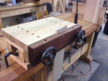 Benchtop Moxon Vise Follow Up With Images Woodworking Bench