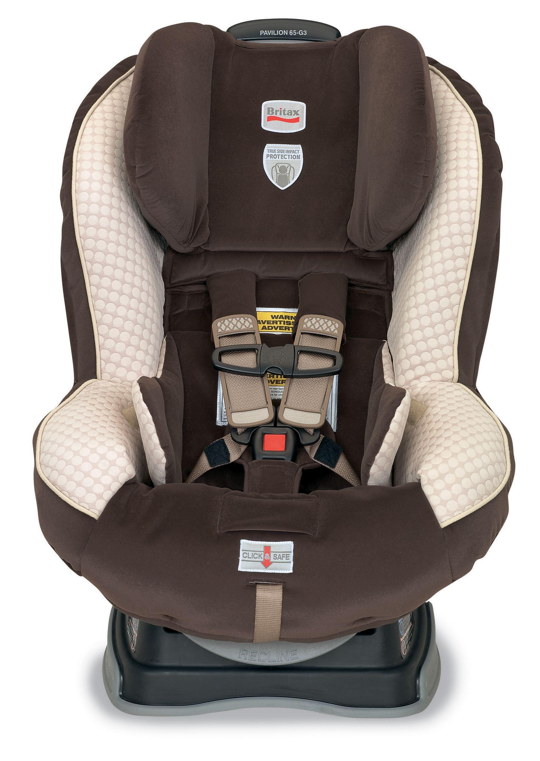 Britax Pavilion 65 Biscotti Car Seats Britax Baby Car Seats