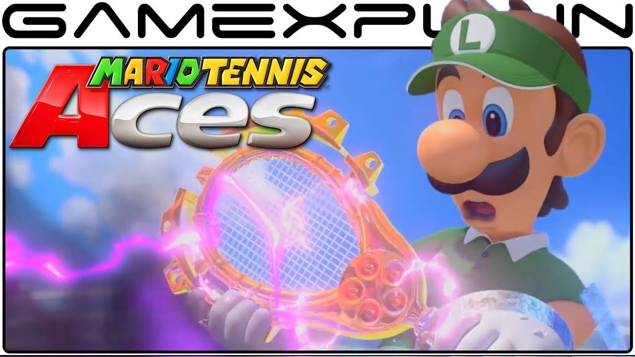 Mario Tennis Aces Launch Trailer Story Mode Dark Luigi