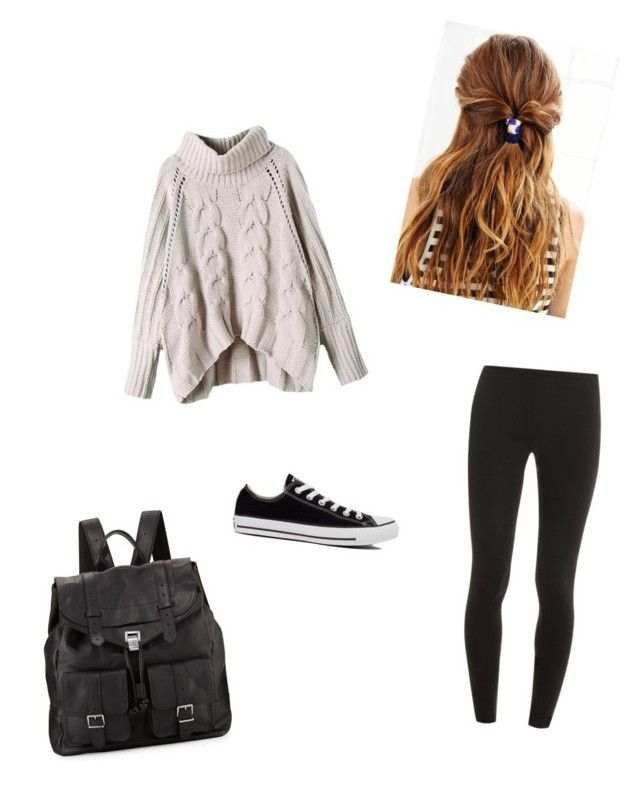 Untitled #28 by emmachalmers301 on Polyvore featuring polyvore, fashion, style, Splendid, Converse and Proenza Schouler