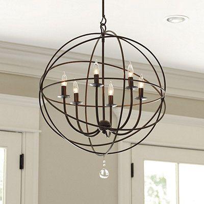 Orb 6 light chandelier ballard designs i would like to try to re orb 6 light chandelier ballard designs i would like to try to re aloadofball Images