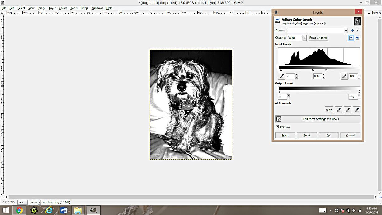 Making Coloring Pages From Photographs Using Gimp Coloring Pages Make Color Family Art