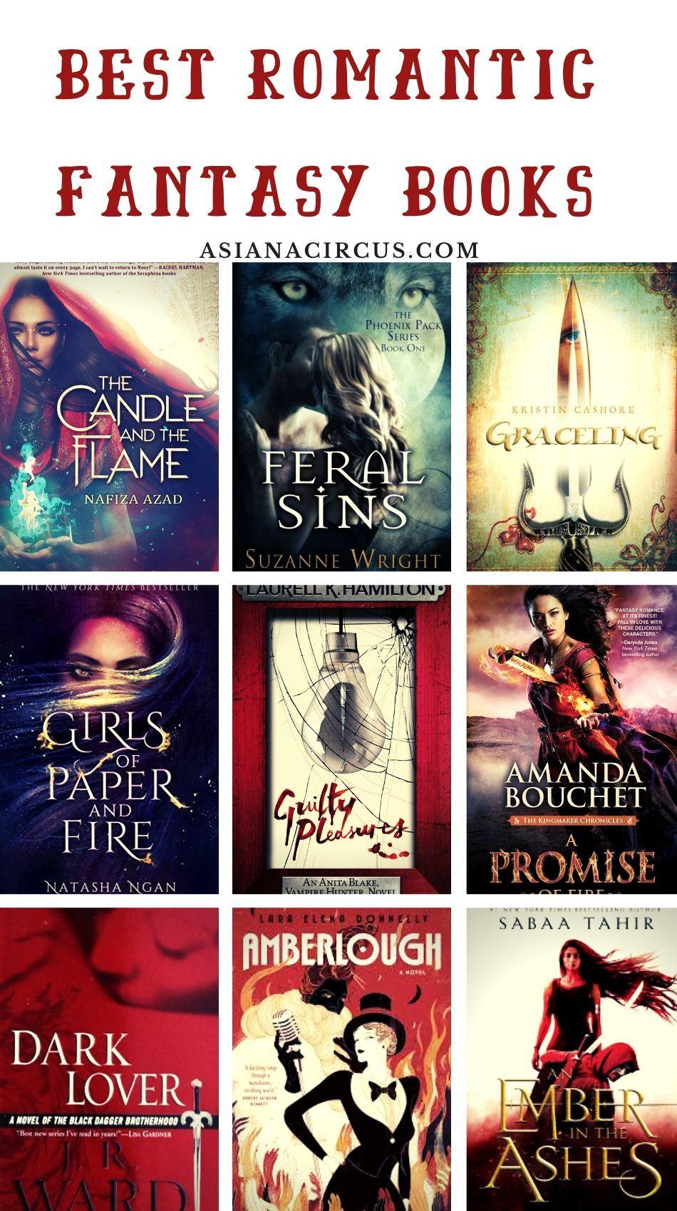 51 Best Romance Fantasy Books Novels To Read Asiana Circus Romantic Fantasy Book Fantasy Books Romantic Books