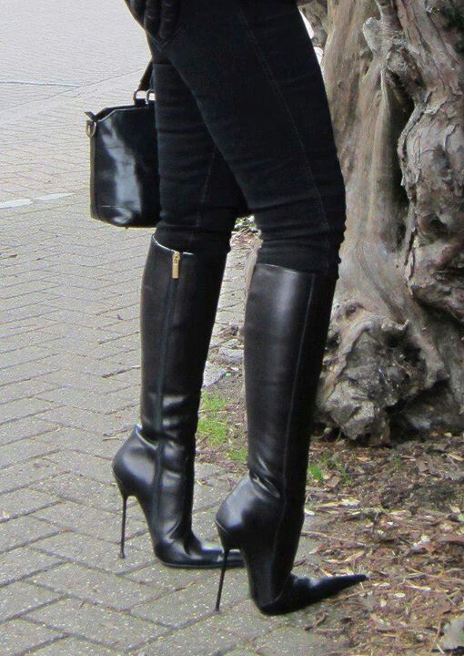 pointy bootsBotte et Beyond talon aiguilleBottes cuir MVpzGqSU