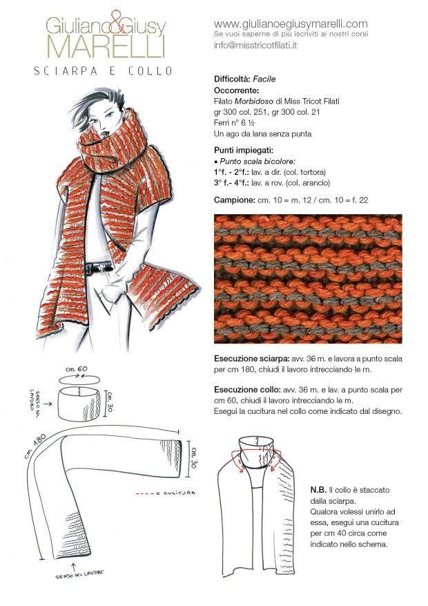 Sciarpa/collo | tejido, costura, estilo | Pinterest | Tejido, Telar ...