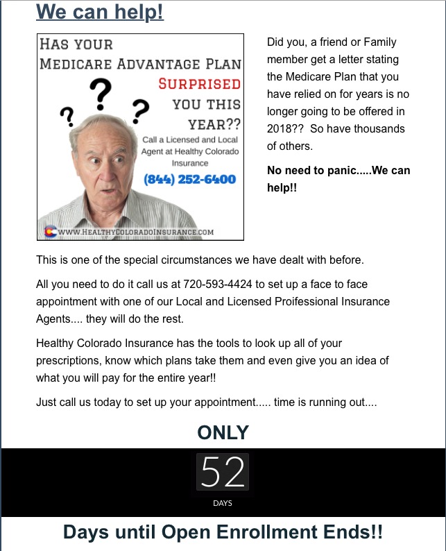 Medicare Open Enrollment Has Begun Did You Medicareadvantage