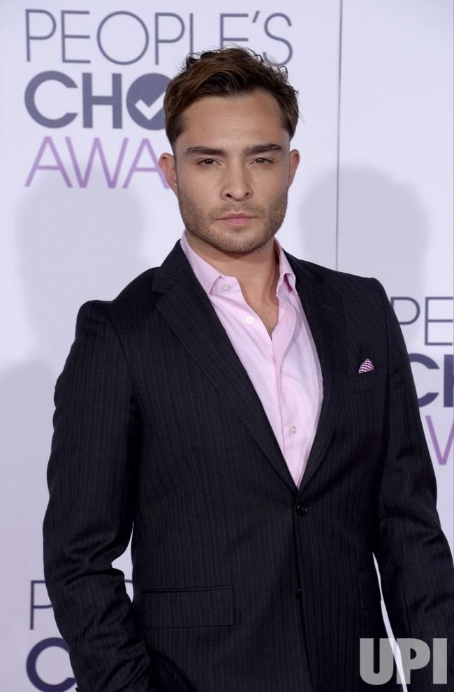 People's Choice Awards 2016, actor Ed Westwick arrives for the 42nd Annual People's Choice at the Microsoft Theater in Los Angeles on January 6, 2016. Photo by Jim Ruyem/UPI