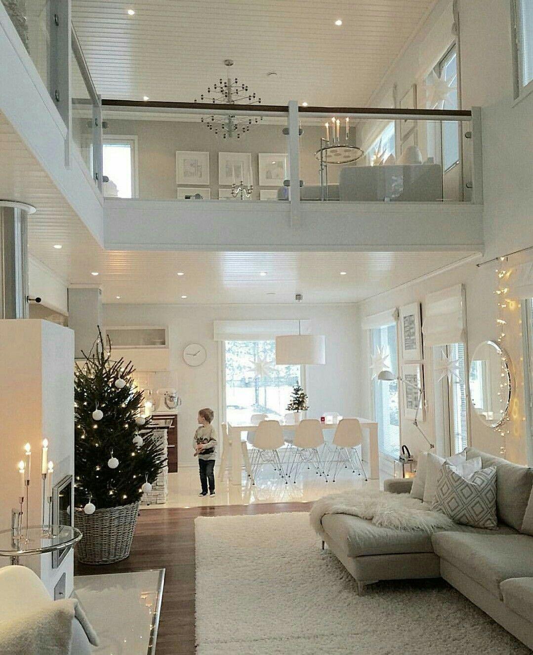 Pin de lewa lewa en christmas rooms pinterest casas - Decoraciones de casas modernas ...