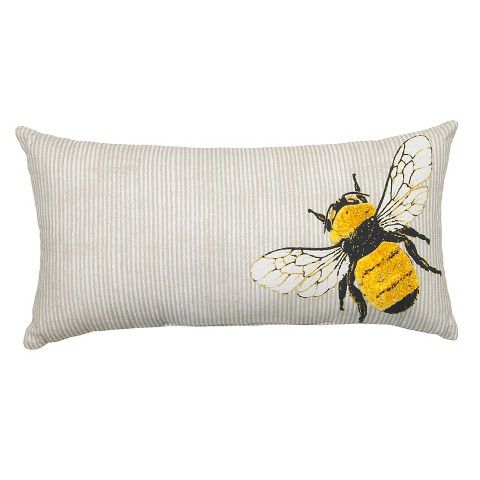 Target Threshold Outdoor Pillow Bee