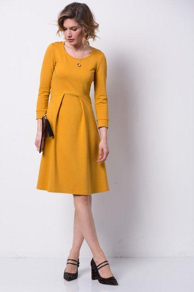 Empirekleider Senfgelb Designerstück Chelsea In Kleid Von Ein iPZTkXuO