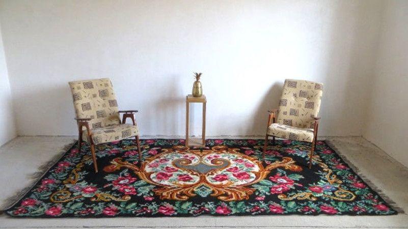 11x56ft 338x170cm,Tapis kilim moldave,Large bohemian rug,kilim rag