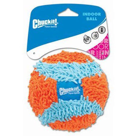 Chuckit Indoor Ball For Small Dogs And Puppies Dog Toy Orange