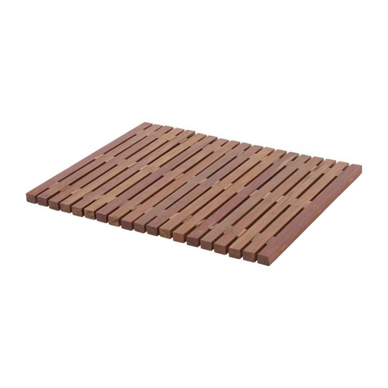 Papua Durian Wood Bathmat 45x In 2020 Wood Habitats Bath Mat