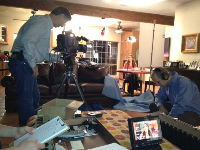 Ashley Furniture HomeStore #commercial Shoot With Erin Kalin