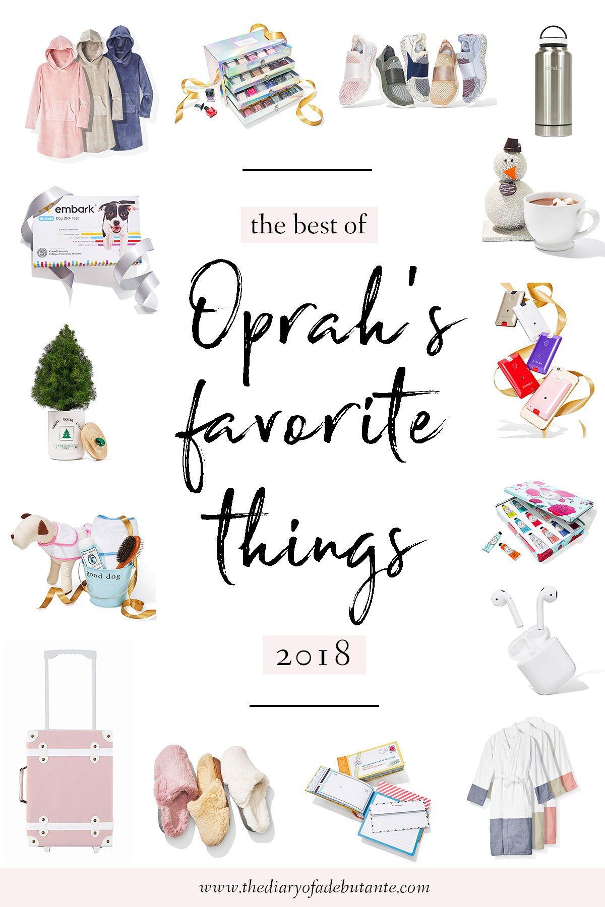 20 Genius Gift Ideas from Oprah's Favorite Things 2018 ...