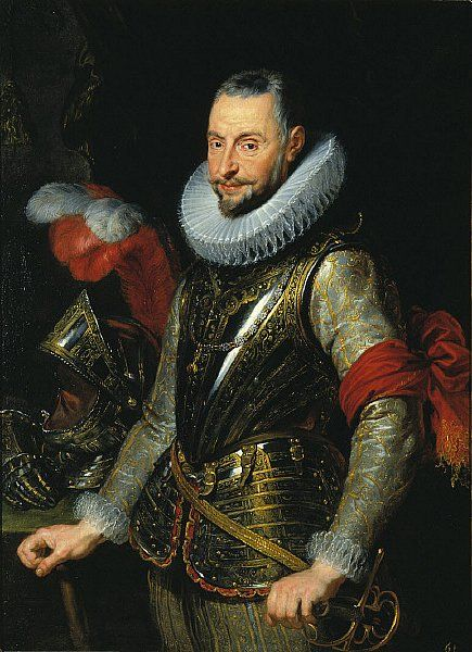 Ambrogio Spinola, leader of victorious Spanish forces at Breda OTD 1625, painted by Peter Paul Rubens