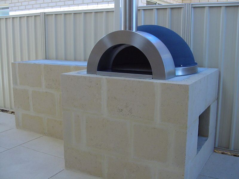 kitchen stainless steel wood burning oven   Copyright ...
