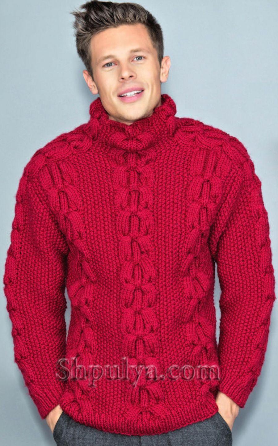 Вязаные мужские свитера, пуловеры, джемперы и жакеты ...