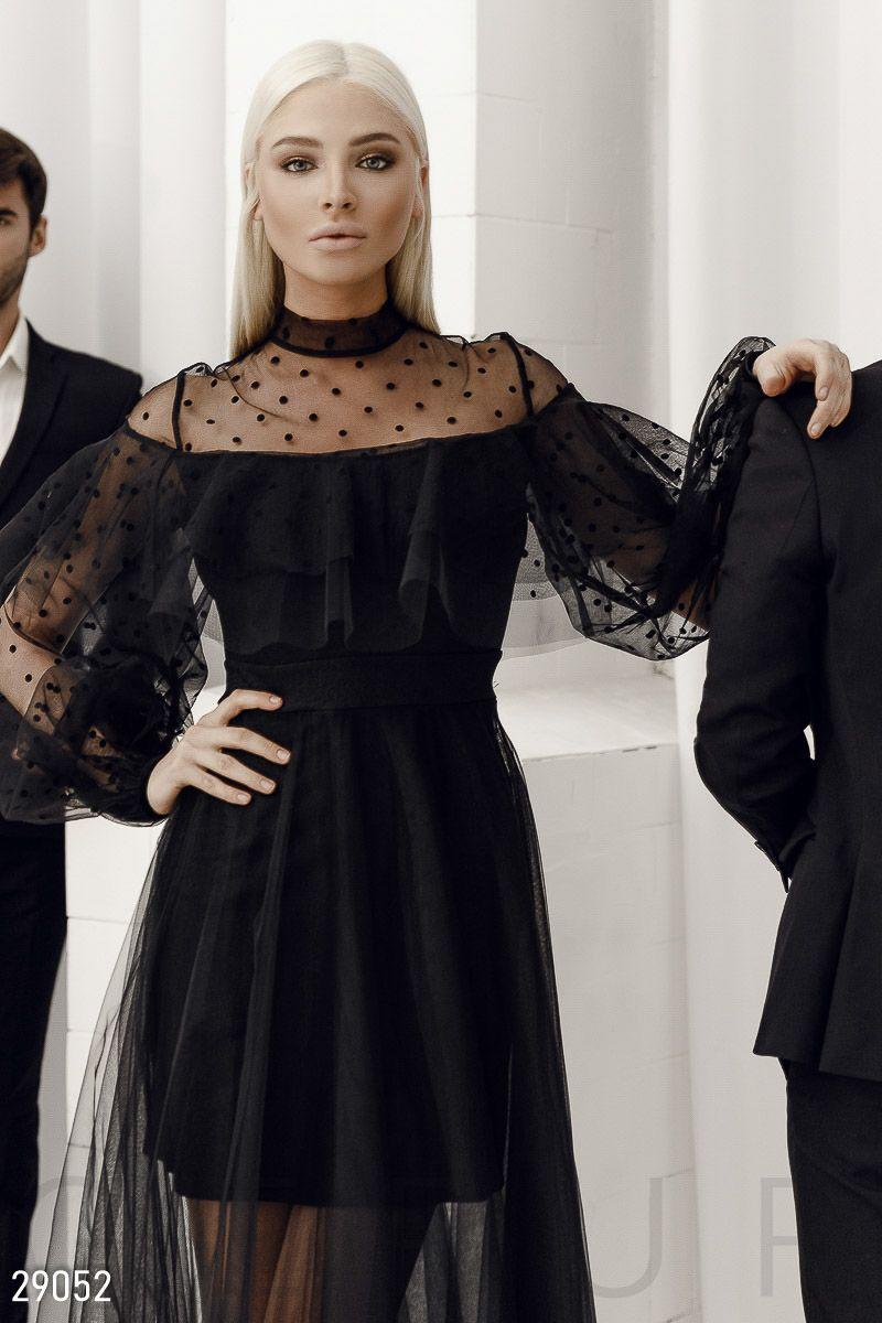 интернет магазин черных вечерних платьев