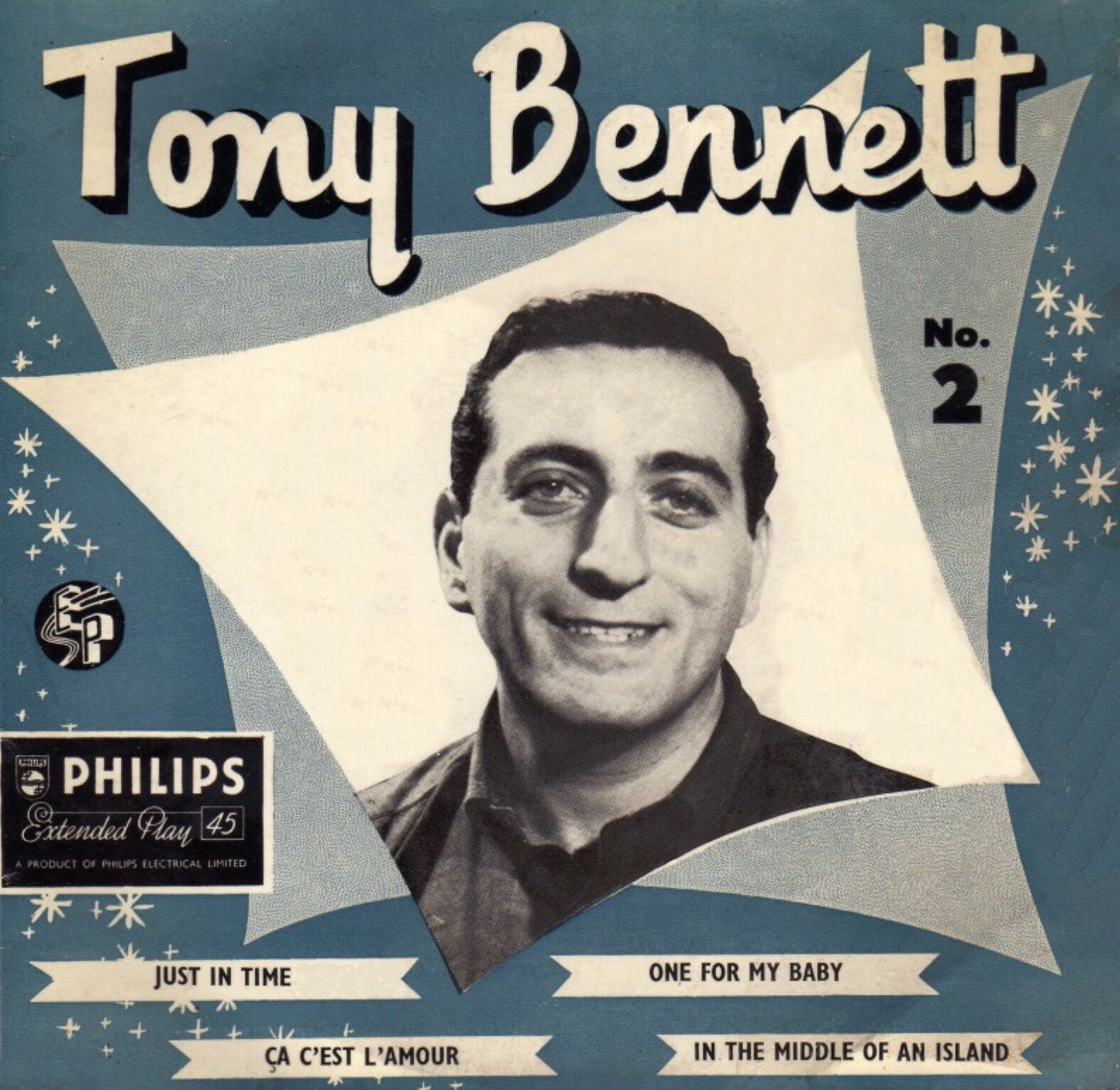 Tony Bennett No 2 Just In Time Ep U K 1958