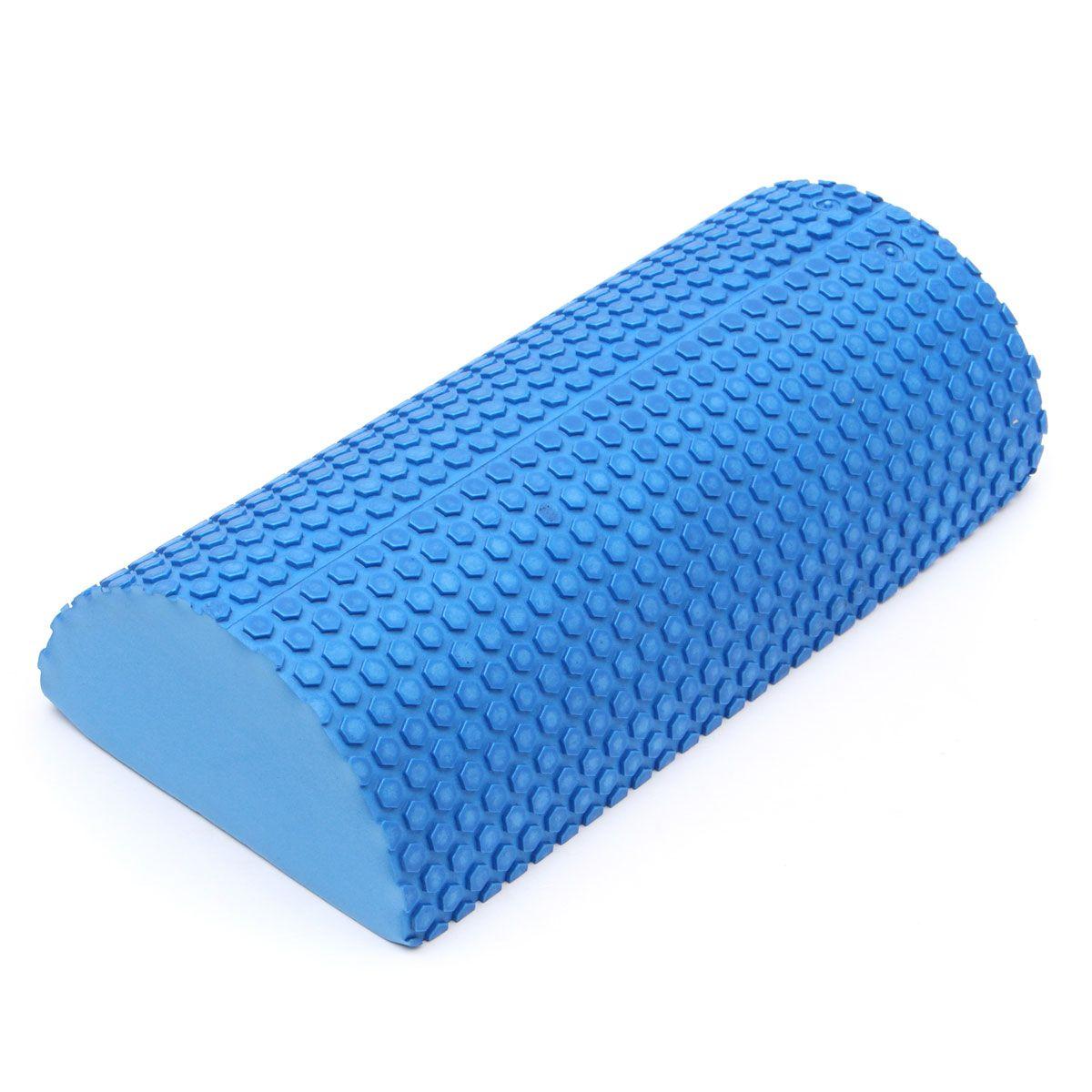 30 cm Half Ronde EVA foam Yoga roller Pilates Fitness Foam Roller Gym Oefening Fitness Yoga Blokken Met Massage Drijvende punt