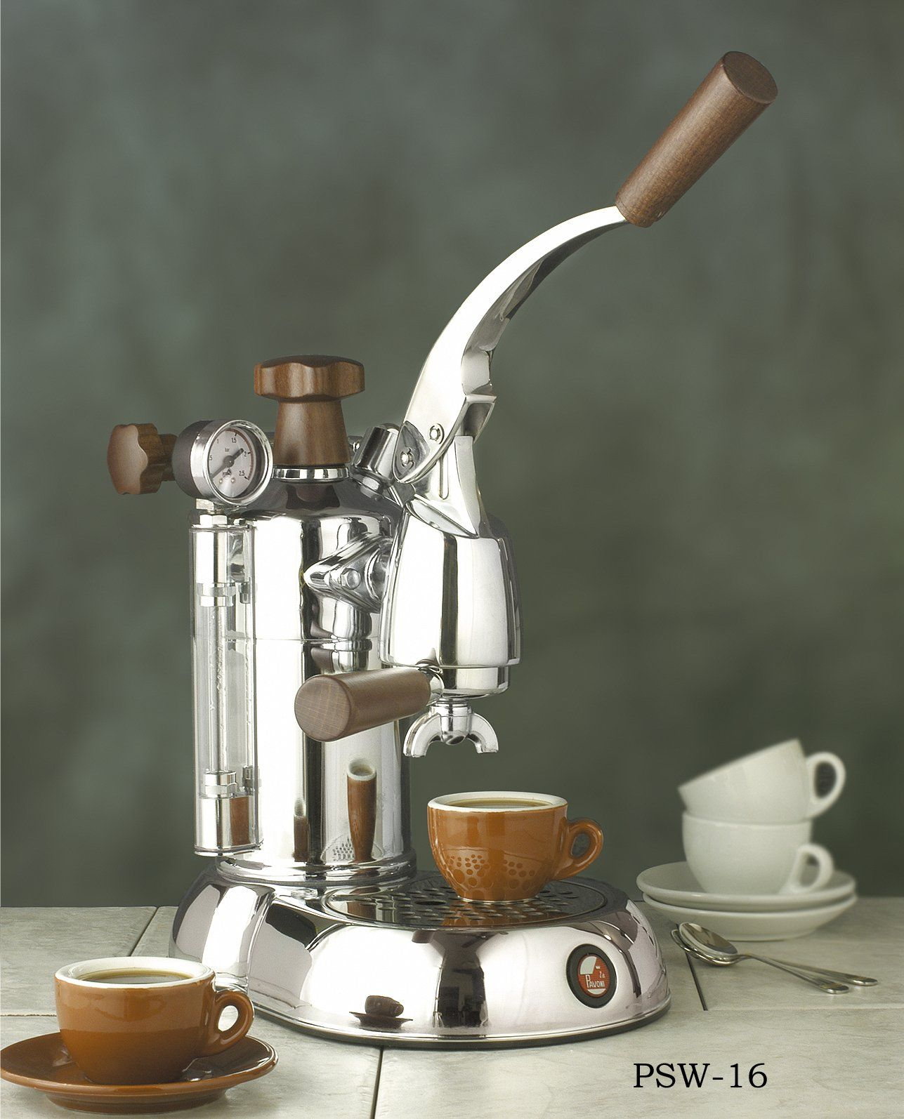 "la Pavoni ""Stradivari"" Lever Press Espresso Machine with"
