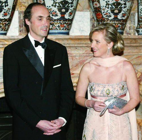 Prince Lorenz and Princess Astrid of Belgium