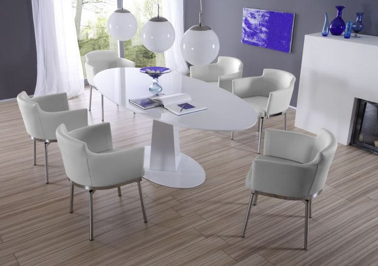 Tolle stuhl weiß leder Deutsche Deko Pinterest - eckbank küche ikea