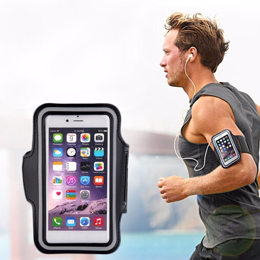 adb12c8fed85 Running bags Sports Exercise Running Gym Armband Pouch Holder Case ...