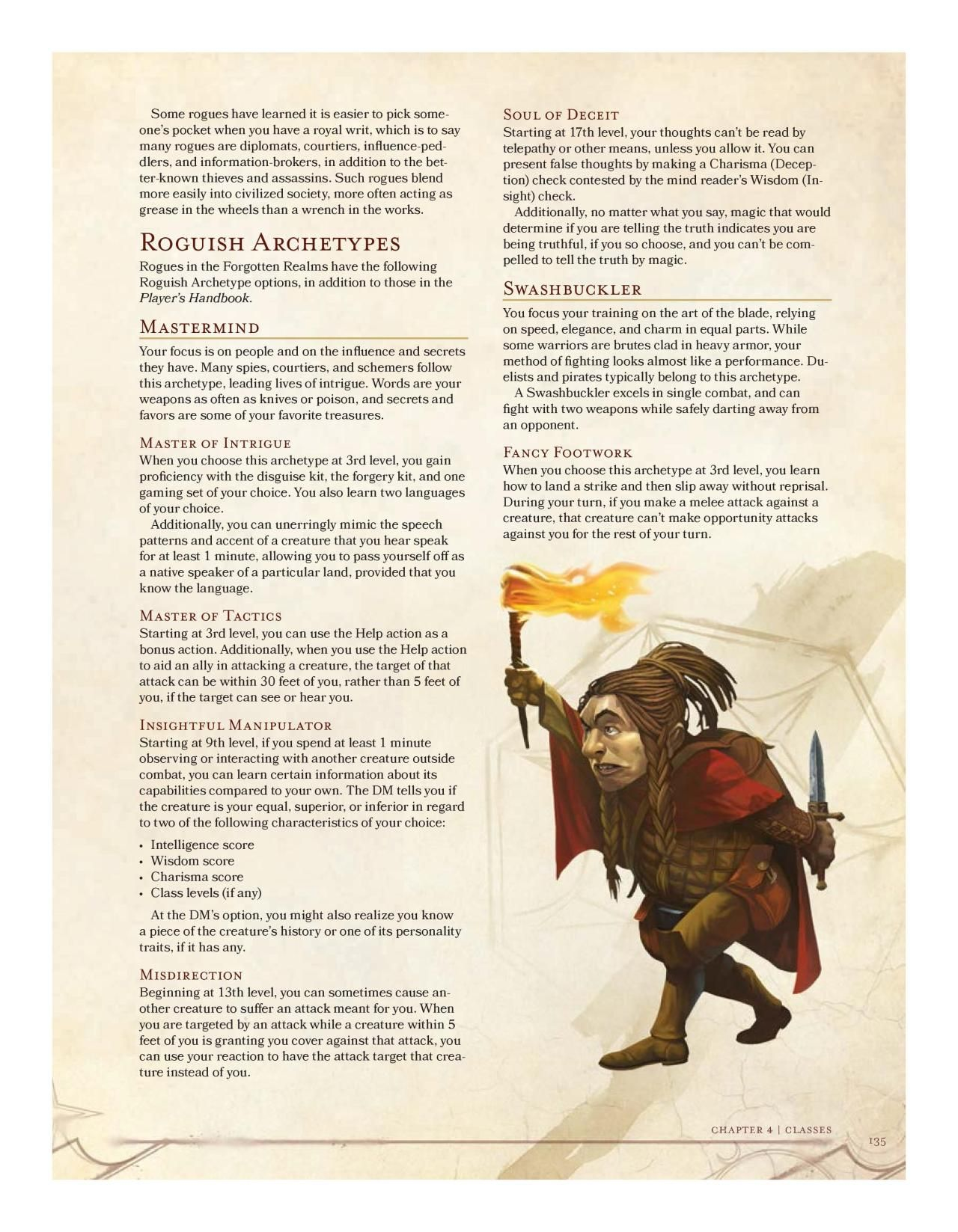 Official Rogue Subclass: Mastermind (Unearthed Arcana) | D&D