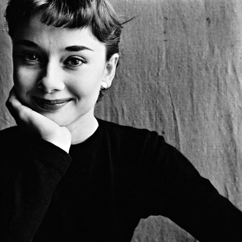 Audrey Hepburm by Irving Penn