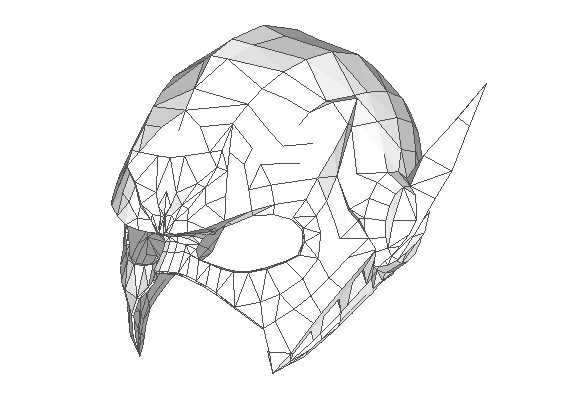 basic deathstroke mask template pdf