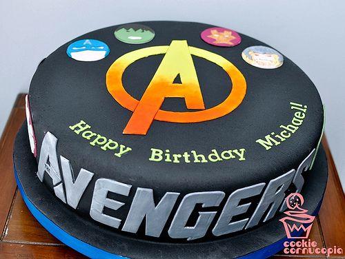 7277032340 958fc02ee0 Con Imagenes Torta De Avengers Torta De
