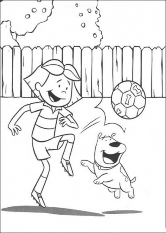 Clifford Friends Coloring Pages | 2 Color * Cute | Pinterest