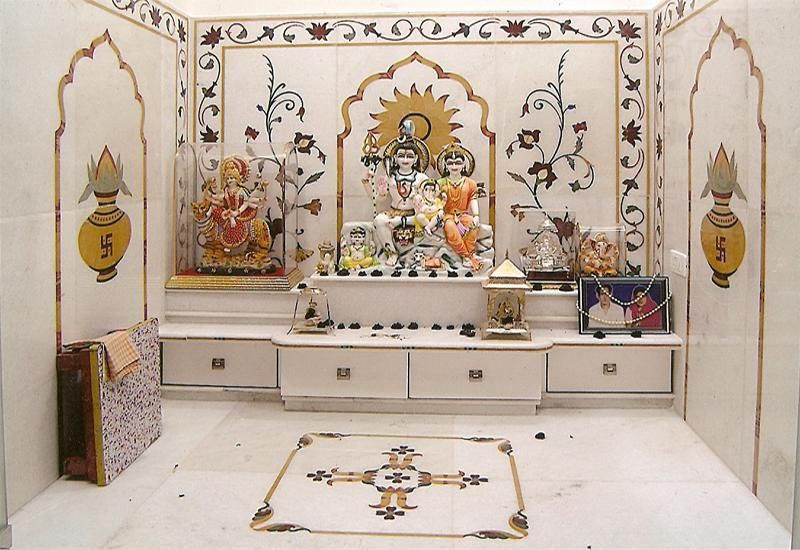 Pooja Room Tiles And Marbles Designs In 2020 Room Tiles Design Tv Cupboard Design Room Door Design